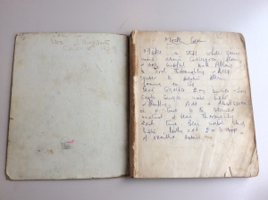Granny's recipe book: open