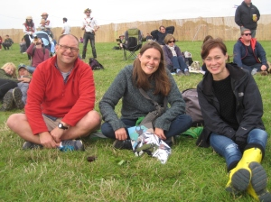 Mark, Helen and Genevieve